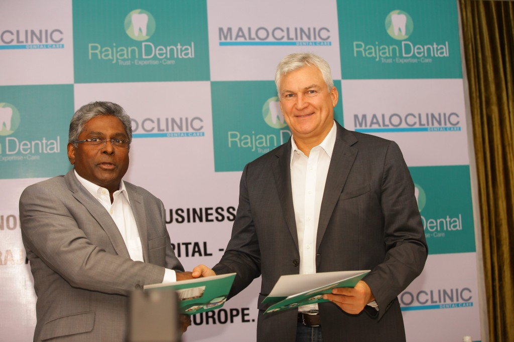 Rajan Dental Business Alliance with Malo Clinic